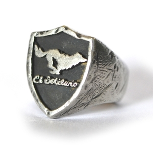 El Solitario Sterling Silver Ring