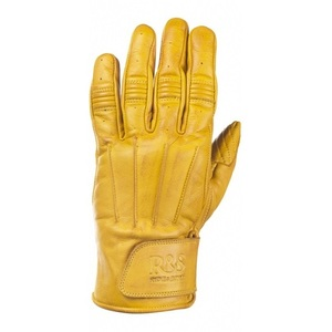 Ride & Sons Worker Leather Glove - Yellow
