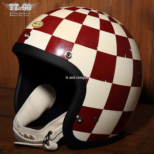 TT&CO Super Magnum Distortion Whole Checkers Strong - Ivory & Red