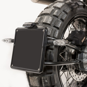 Unit Garage Plate Holder Low RnineT